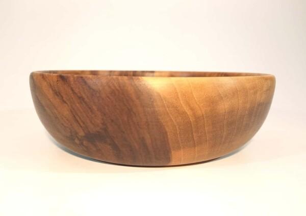 vaisselle bol en bois de noyer tourné