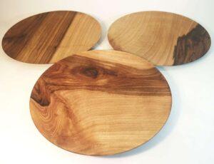 L'assiette polyvalente en bois de Noyer